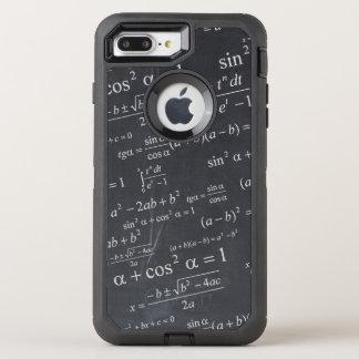 Funny Math Formula Chalkboard Geek Teacher Student OtterBox Defender iPhone 8 Plus/7 Plus Case