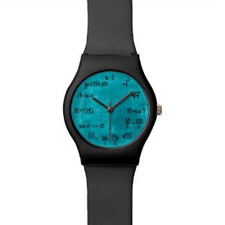 Funny Math Geek Wristwatches