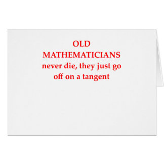 funny math joke card