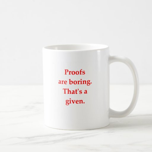 funny math joke classic white coffee mug