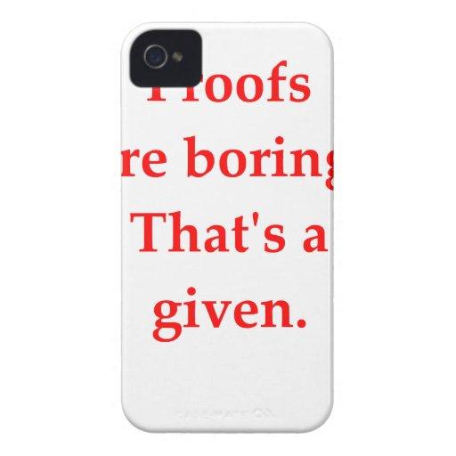 funny math joke iPhone 4 case