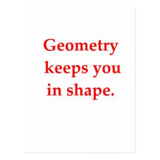 funny math joke postcards