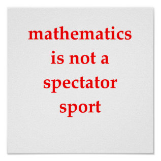 Funny Math Joke Poster at Zazzle