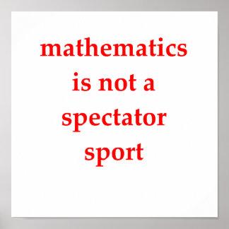 funny math joke poster