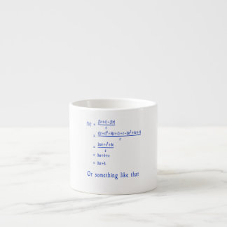 Funny Math stuff Espresso Cup