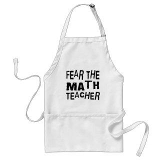 Funny Math Teacher Adult Apron