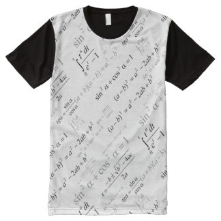 Funny Mathematics Equations for Math Geek All-Over-Print T-Shirt