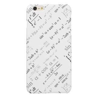 Funny Mathematics Formulas Math Geek Glossy iPhone 6 Plus Case