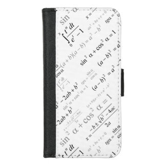 Funny Mathematics Formulas Math Geek iPhone 8/7 Wallet Case