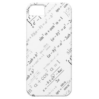 Funny Mathematics Formulas Math Geek iPhone SE/5/5s Case