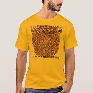 Funny Mayan Apocalypse 2012 Survivor T-Shirt
