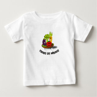 Funny Meals on Wheels Baby T-Shirt