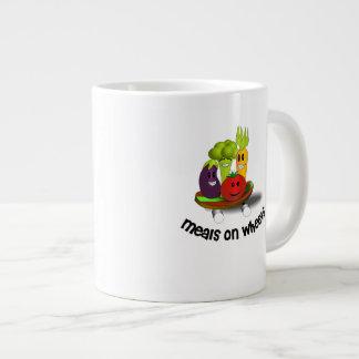 Funny Meals on Wheels Giant Coffee Mug