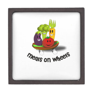 Funny Meals on Wheels Gift Box