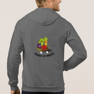 Funny Meals on Wheels Hooded Pullover