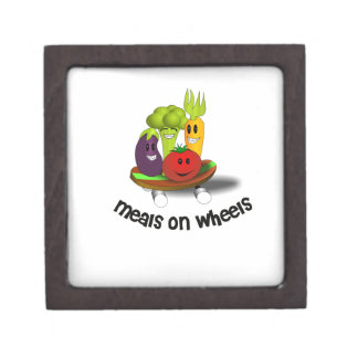 Funny Meals on Wheels Jewelry Box
