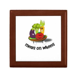 Funny Meals on Wheels Keepsake Box