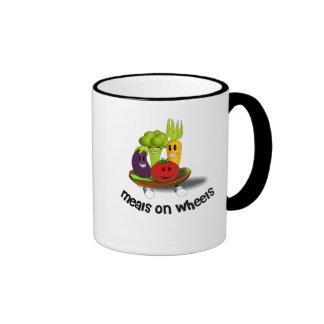Funny Meals on Wheels Ringer Mug
