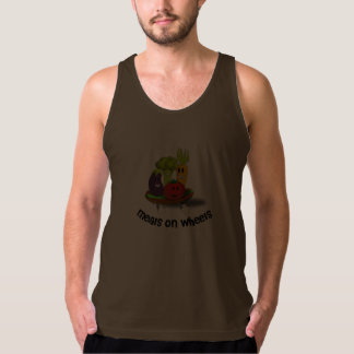 Funny Meals on Wheels Tank Top