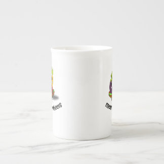 Funny Meals on Wheels Tea Cup