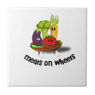 Funny Meals on Wheels Tile