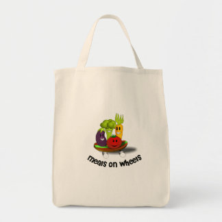 Funny Meals on Wheels Tote Bag