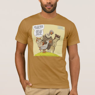 Funny Mean To Ducks Mens 100% Organic Tees
