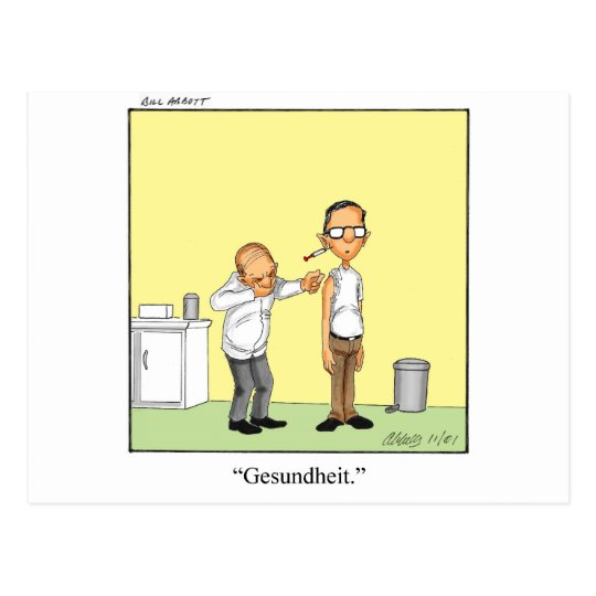 Funny Medical Cartoon Gift! Postcard