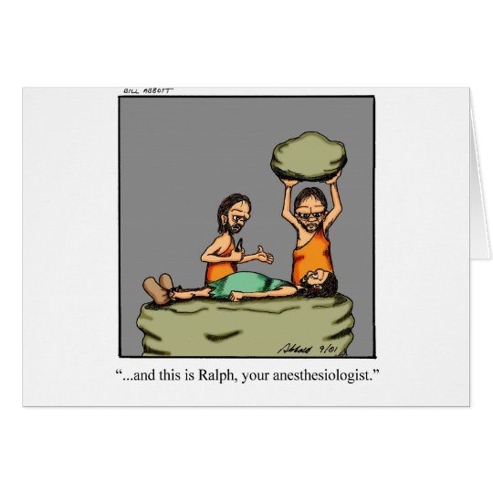 Funny Medical Gifts! Card