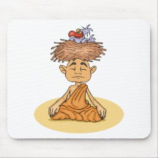 Funny Meditation Mousepads
