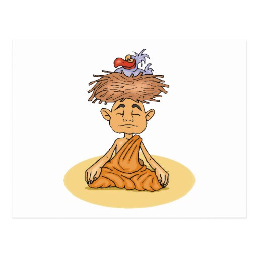 Funny Meditation Postcards