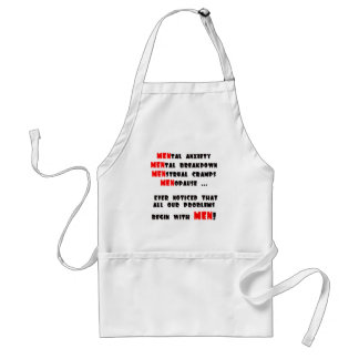 Funny Men T-shirts Gifts Adult Apron