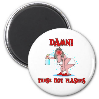 Funny Menopause 2 Inch Round Magnet