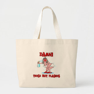 Funny Menopause Large Tote Bag