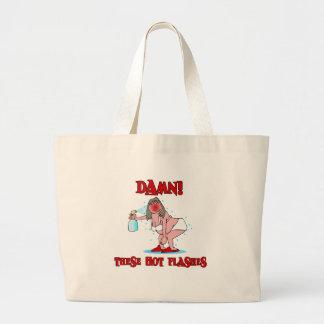 Funny Menopause Large Tote Bag