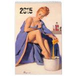 FUNNY men's Calendar. editable to 2016 Calendar