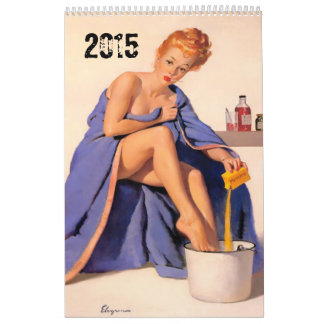 FUNNY men's Calendar. editable to 2016 Calendar