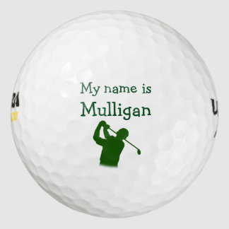 Funny Men's Golf Balls Pack Of Golf Balls