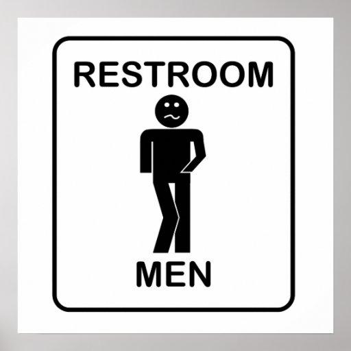 Bathroom Sign Posters Bathroom Sign Prints Art Prints Poster