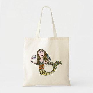 Funny Mermaid Bag