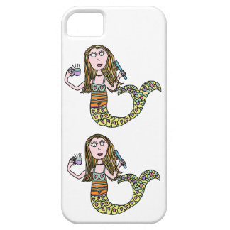Funny Mermaid iPhone 5 Cover