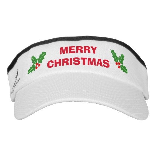Funny Merry Christmas in July sun visor cap hat  18e713e33926