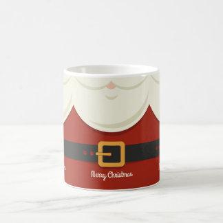 Funny Merry Christmas Santa Claus Suit Holiday Coffee Mug