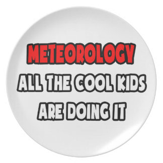Funny Meteorologist Shirts and Gifts Plate