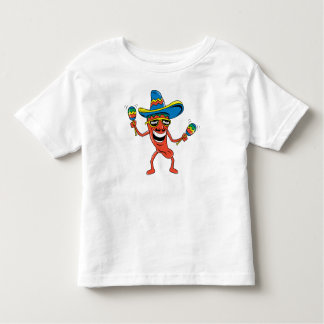 Funny Mexican Kids Toddler T-shirt