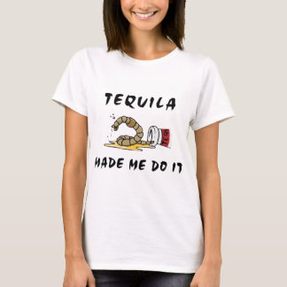 Funny Mexican Tequila Ladies T-Shirt