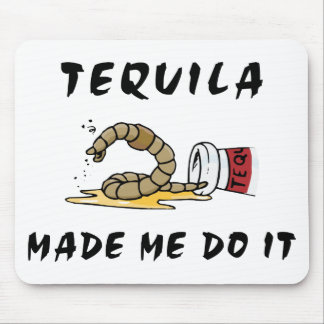 Funny Mexican Tequila Mouse Pad