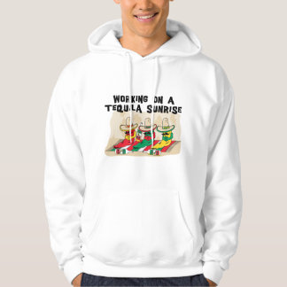 Funny Mexican Tequila Sunrise Hooded Sweatshirt