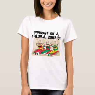 Funny Mexican Tequila Sunrise Woman's T-Shirt