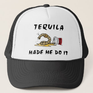 Funny Mexican Tequila Trucker Hat